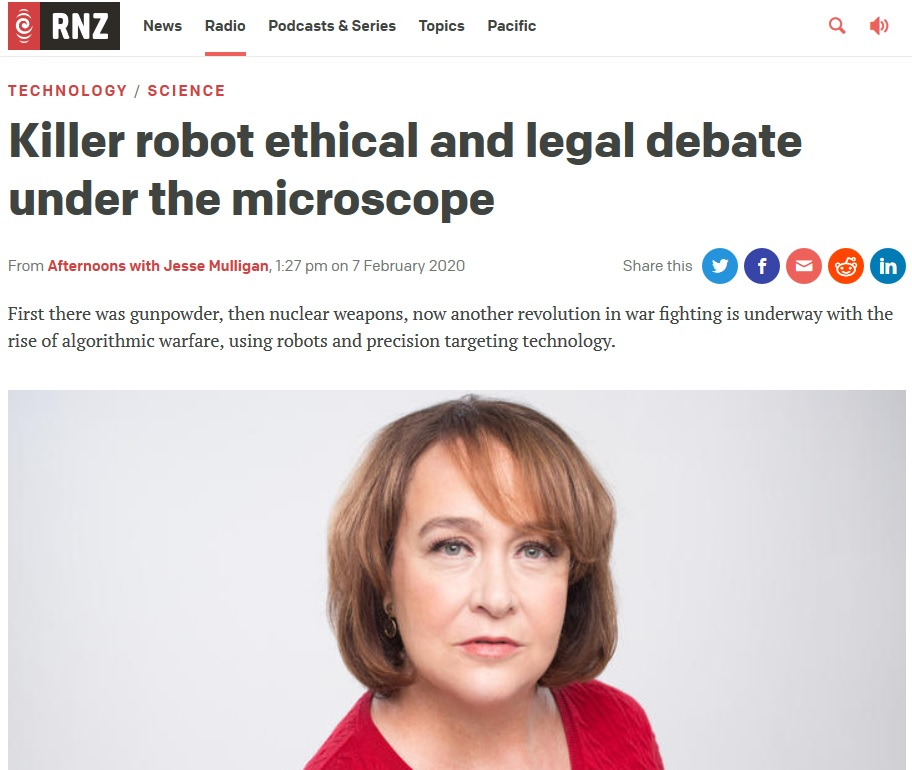 Killer robot ethical and legal debate under the microscope